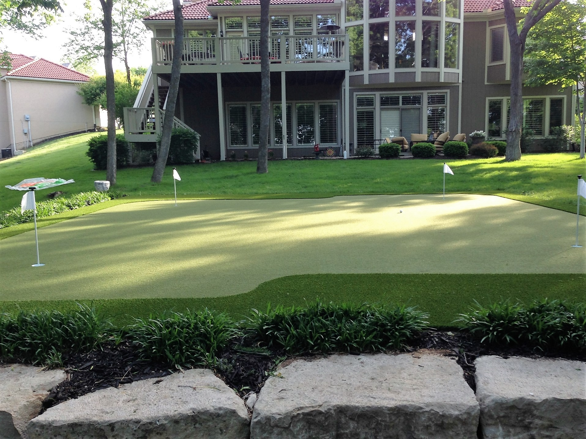 Nylon BentGrass Putting Green Surface... Indoor And Outdoor