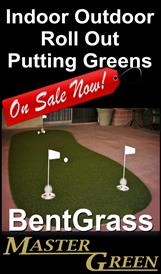 Roll Out Putting Greens