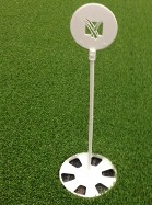 "Star Putting Green Cup 4.25"" With Flag"