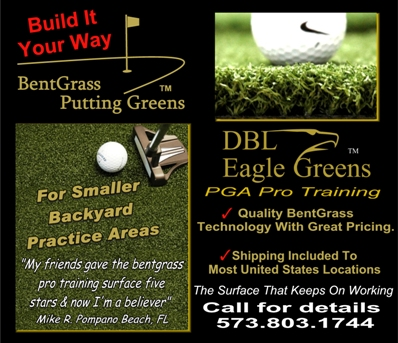 0003-- DBL Eagle BentGrass Practice Putting Green