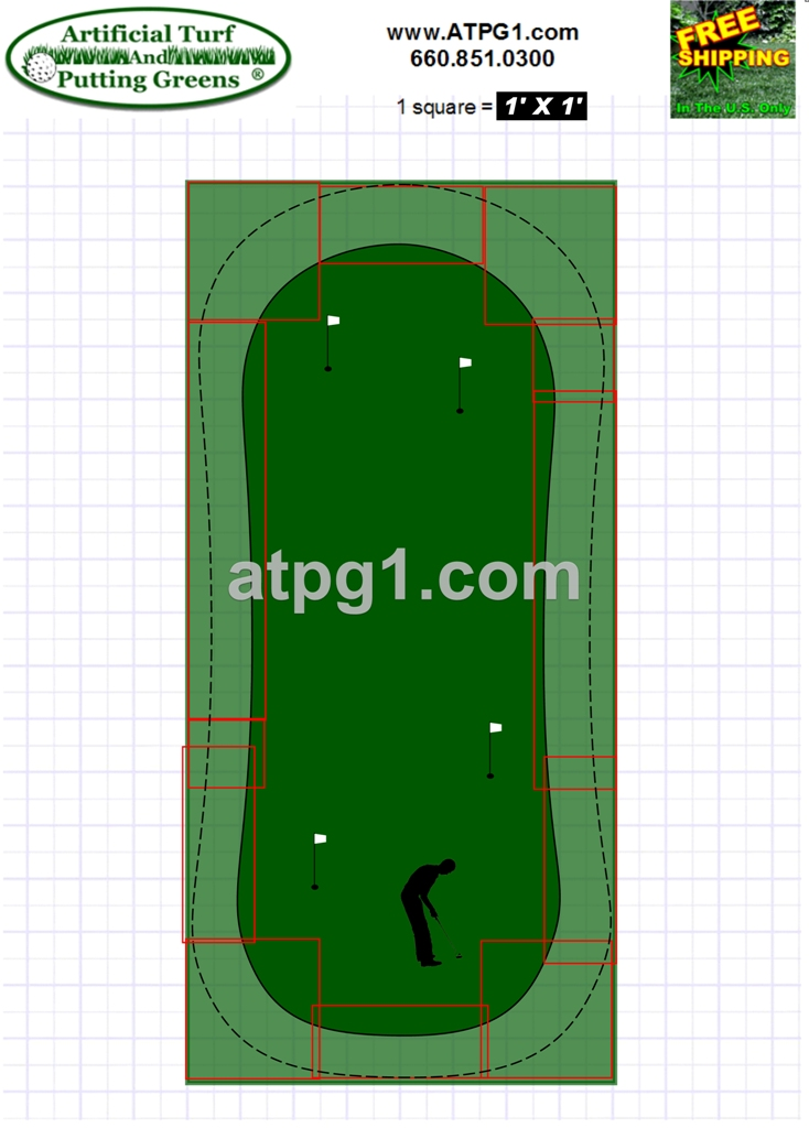 Backyard putting greens putting green free putting green Green plans