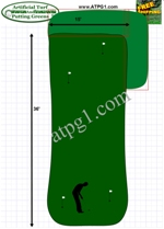 backyard putting green design