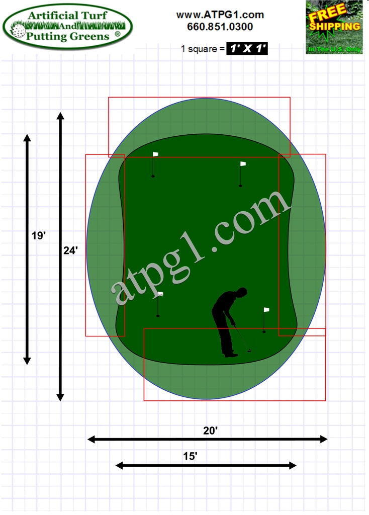 Practice Putting Green Designs atpg1.com