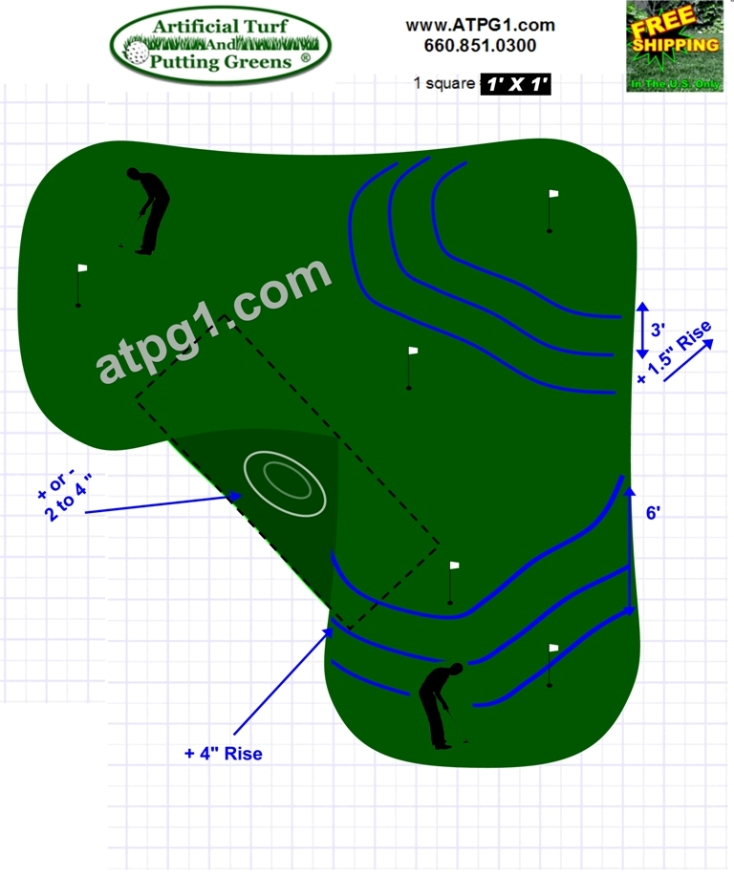 Putting greens free putting green designs plans Green plans