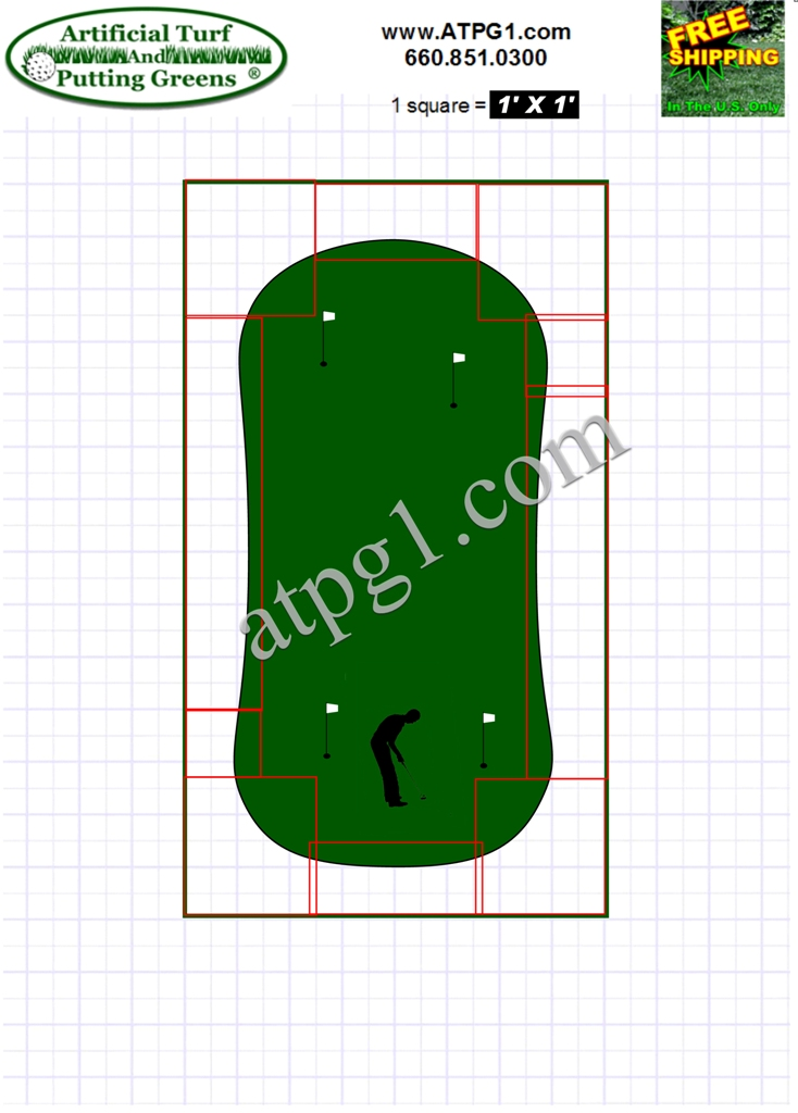 BentGrass Putting Green Design