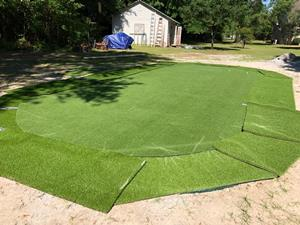 Backyard Putting Greens, Putting Green Wholesale Nylon ...